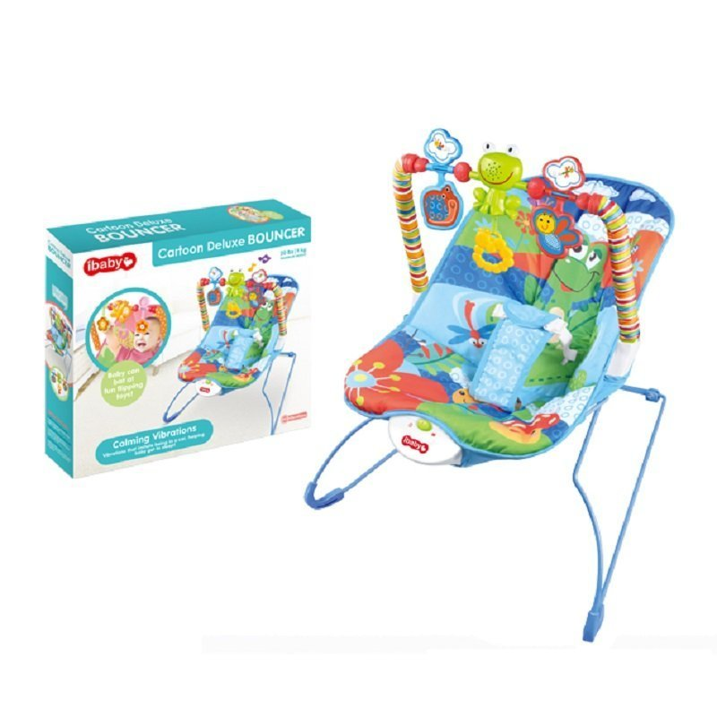 iBaby Cartoon Deluxe Bouncer - Mini Mall