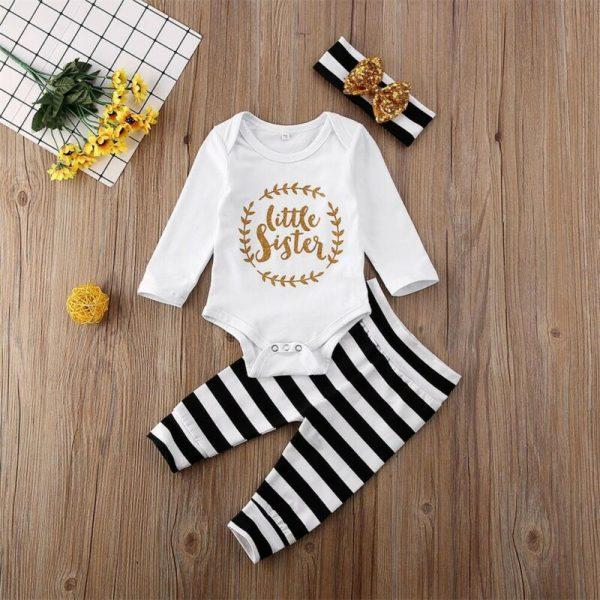 Baby-Set-Newborn-Baby-Girl-Set-Little-Sister-Romper-Top-Pants-Headband-Cotton-Long-Sleeve-Autumn5